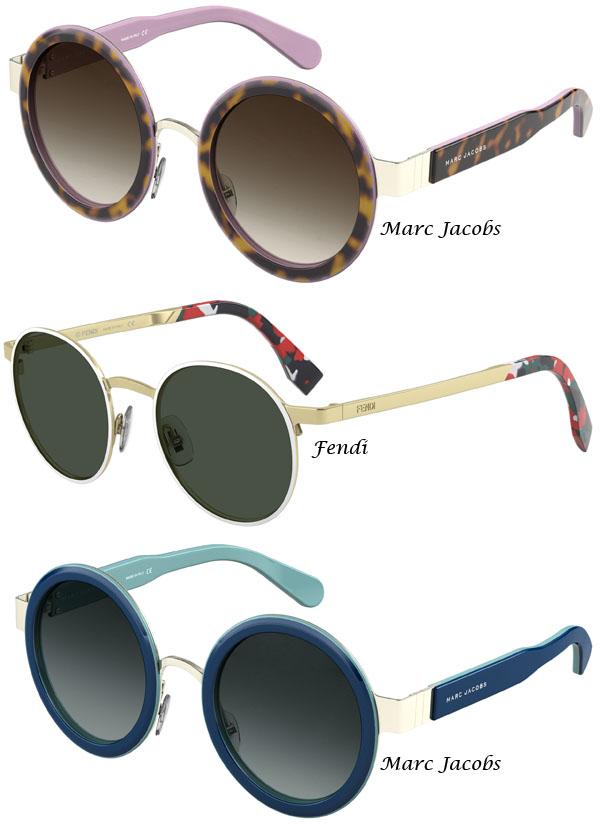 46a0f7c1b Para quem gosta da tendência, hoje deixo-vos por cá algumas imagens de  óculos de sol e visão com lentes redondas.