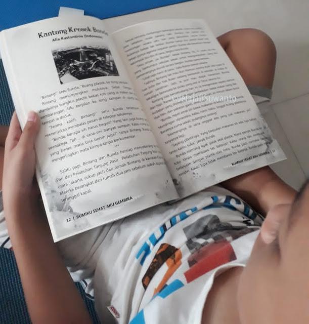 Buku Bumiku Sehat Aku Gembira Bacaan bagus untuk Anak & Remaja  || ⓒJelajahSuwanto