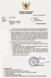 SK Bupati Walikota Untuk NUPTK Tahun 2016