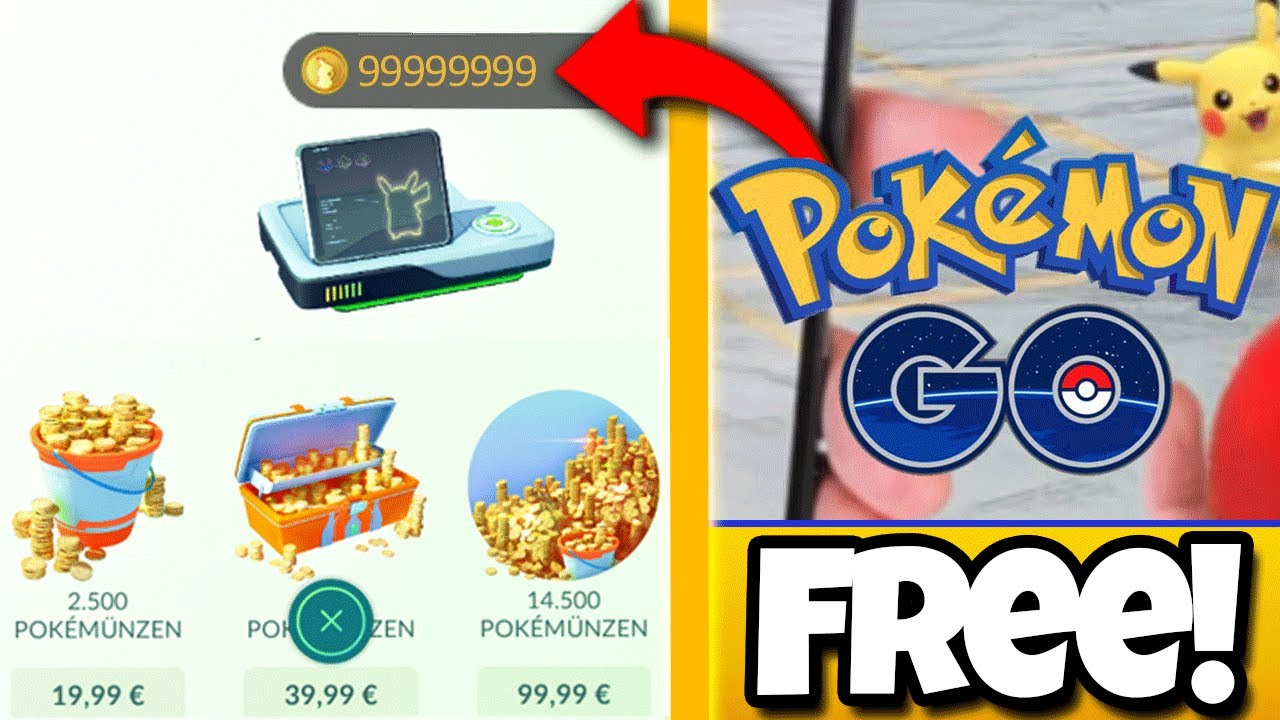 Get Unlimited Pokecoins & Pokeballs For Free! Tested [2021]