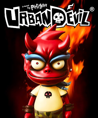 Urban Devil Action Figures by PEPPERJERRY