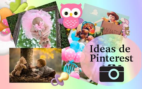 Ideas para un photoshoot de bebé