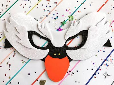 Máscara de cisne