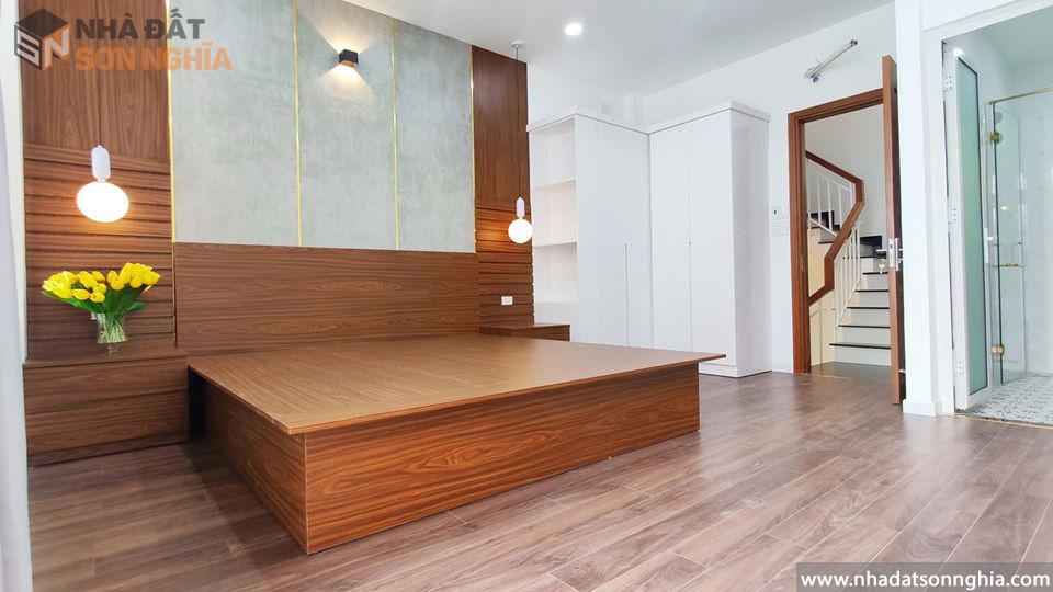 Thiết kế phòng ngủ hài hòa tiện nghi