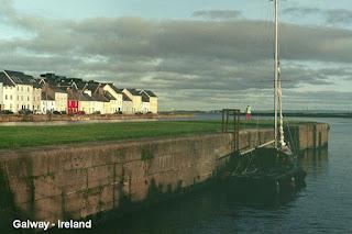 Galway sea Ireland