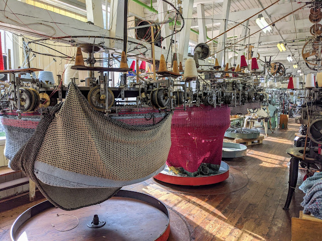 Bergen Day Trips: Historic knitting machines at the Textile Industry Museum in Salhus