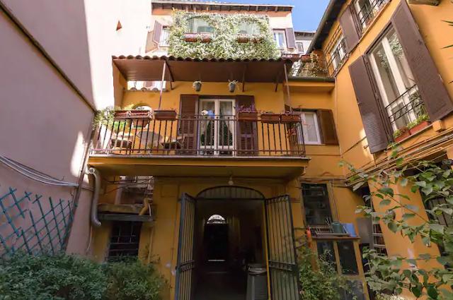 Airbnb Rome - Trastevere - Maison avec Balcon