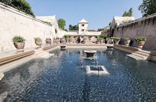 Yogyakarta, Palacio del Agua.