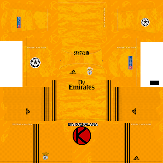 SL Benfica 2019/2020 champions league Kit - Dream League Soccer Kits