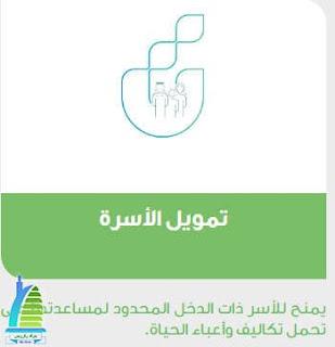 شروط ومستندات  تمويل الأسرة من بنك التنمية الإجتماعية السعودي