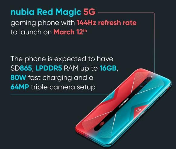 Nubia Red Magic 5G Menjadi Smartphone Terkencang saat ini Versi Antutu
