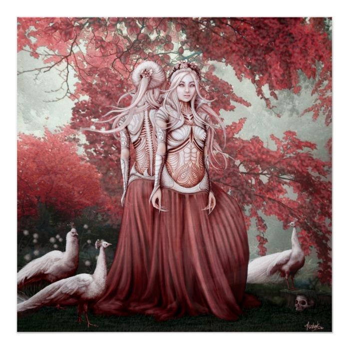 Witches of Hoia Baciu - Beautiful Haunting Art