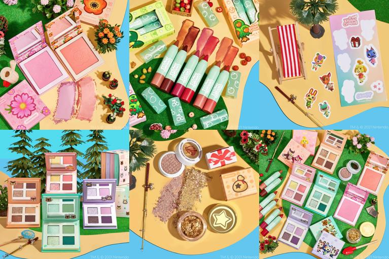 Colourpop x Animal Crossing New Horizons Makeup Collection