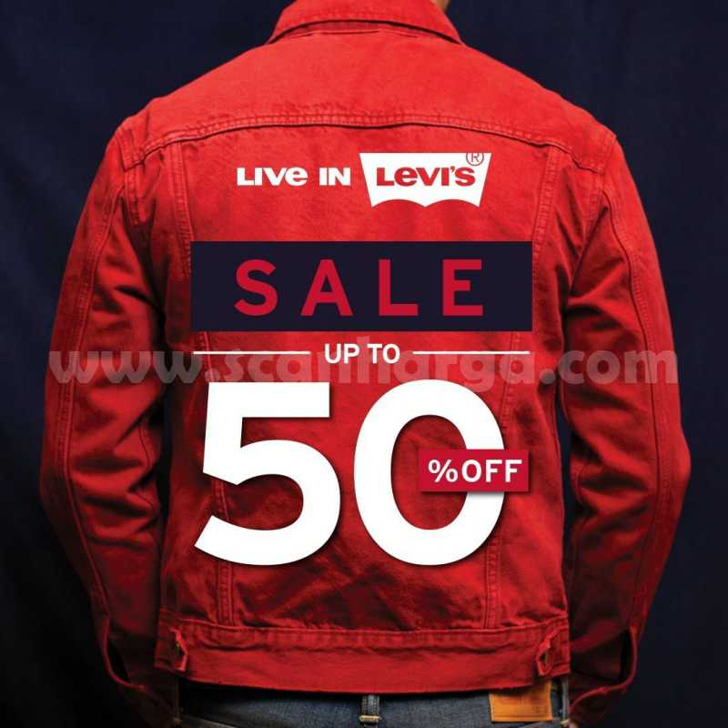 Promo Levi's END OF SEASON SALE UP TO 50% Off Periode 19 Juni - 26 Juli 2020