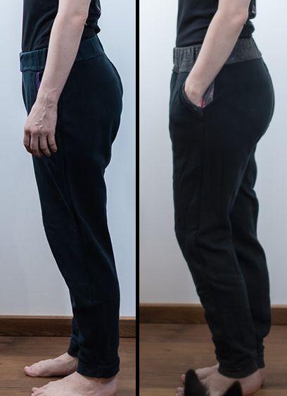 comparisation jj knit classic joggers sinclair patterns vs the hudson pants true bias sewing minn's things big calves