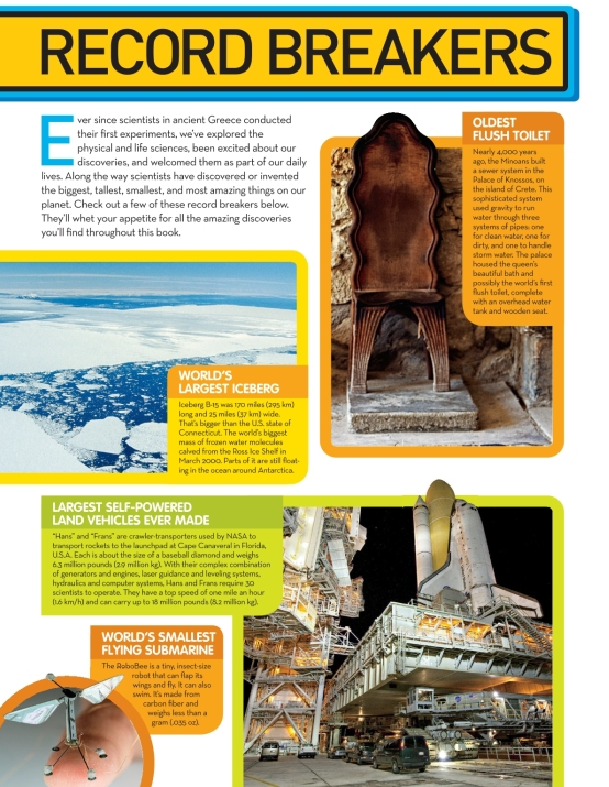 National Geographic Kids Science Encyclopedia Atom Smashing