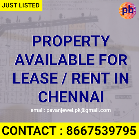 GROUND for Lease or Rent in Chennai , India