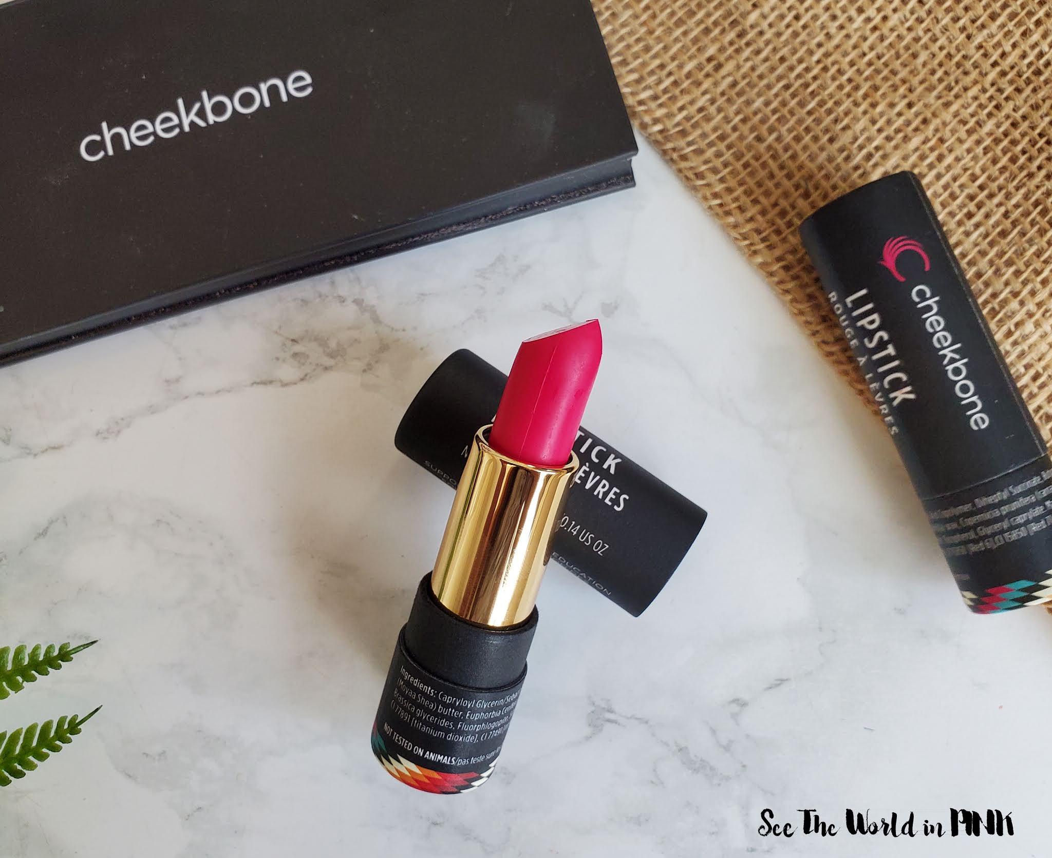 New Cheekbone Beauty Sustain Lipsticks in Haki & Aina