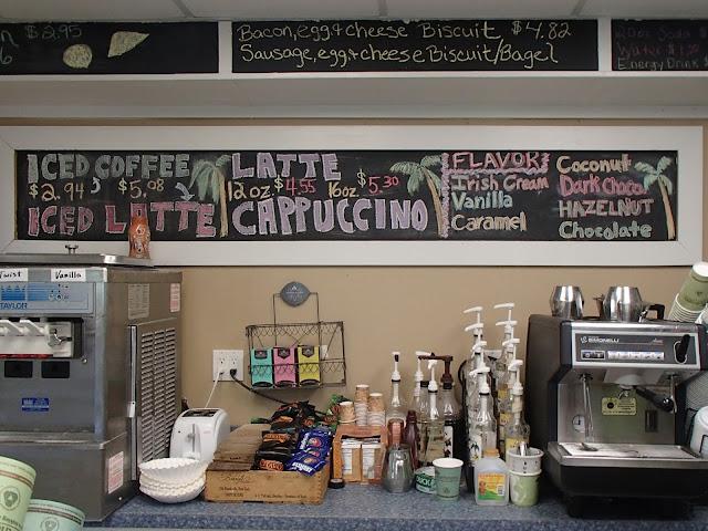 Palm Island coffee shop