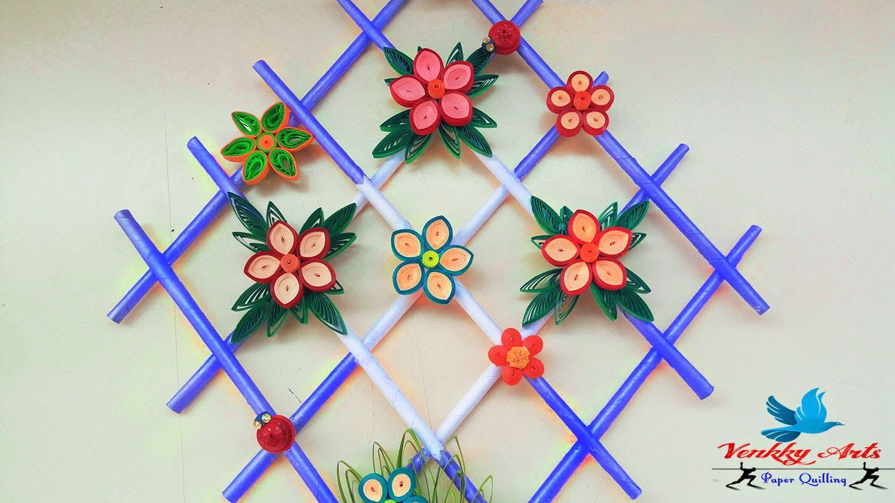 Paper Quilling Wall Hangers For Room Decoration Paper Quilling
