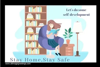 stay home stay safe awareness status