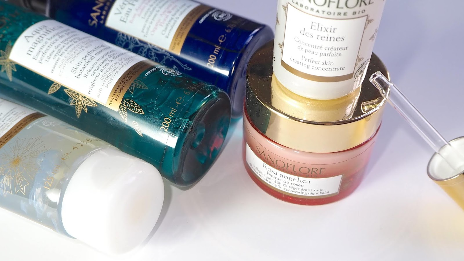 Sanoflore skincare products