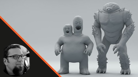 Making Creatures using Zspheres in Zbrush