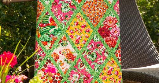 Bountiful Garden Quilt - Quilting Land