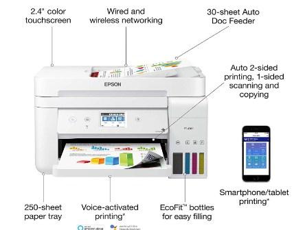 Epson EcoTank ET-4760 Printer Driver and Software Download