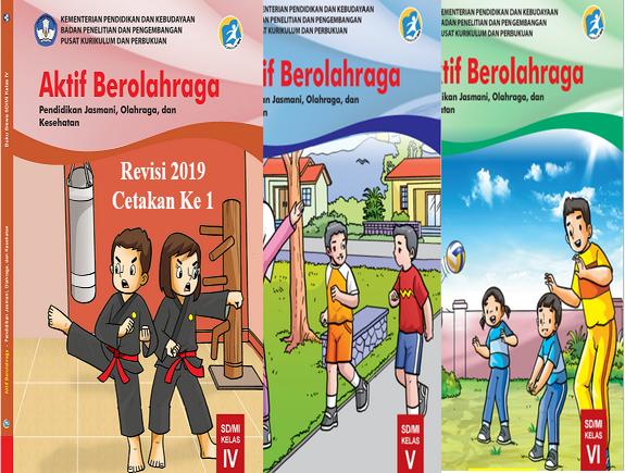Buku PJOK K2013 Revisi 2019 Untuk Siswa Kelas 4,5,6 SD/MI