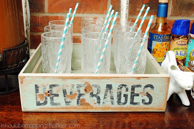 DIY Vintage Soda Crate Tutorial