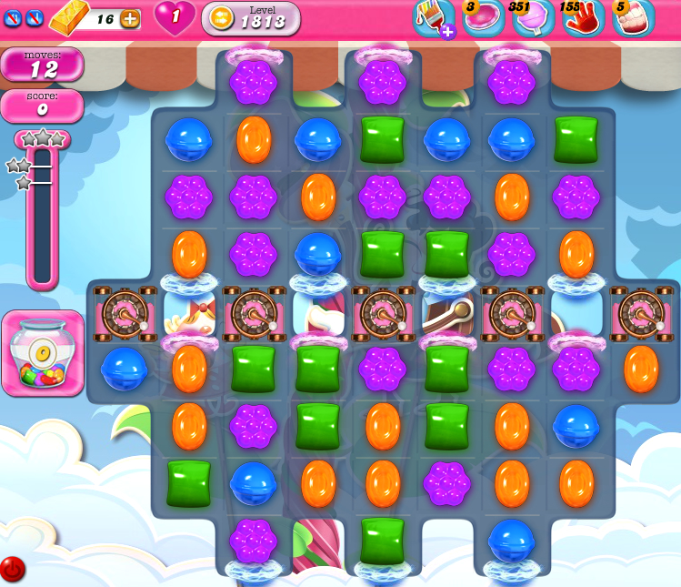 Candy Crush Saga 1813