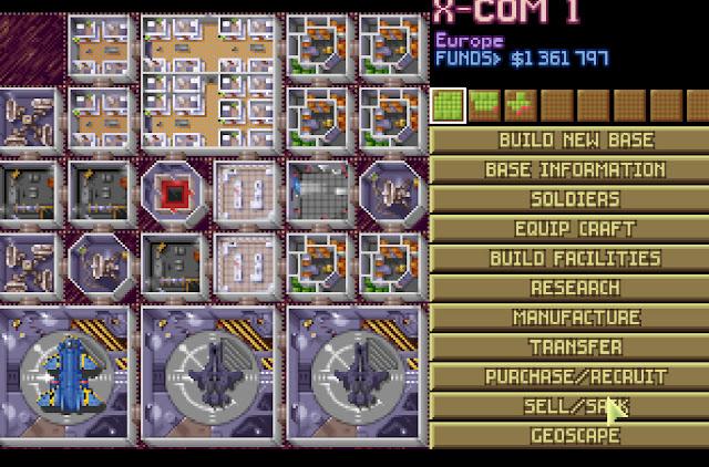 Open Xcom - X-Com Base Screenshot