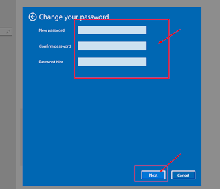 mengganti password windows 10