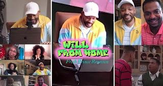 Will Smith trifft sich wieder mit der 'Fresh Prince'-Besetzung und gab ein Corona Quarantäne Konzert mit Jazzy Jeff | Videos