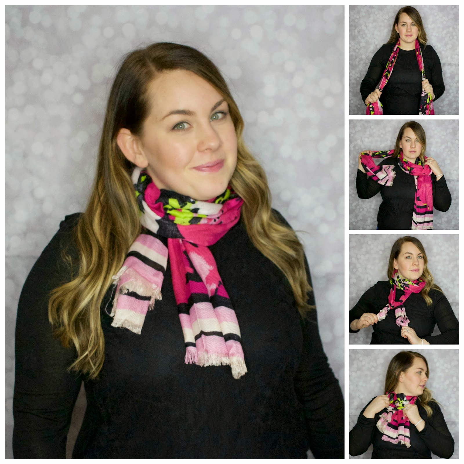 Sometimes we get into a scarf tying rut, and it's hard to get out of it! These 4 different ways to tie a scarf are creative and perfect for the fall and winter months.