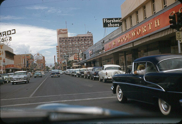 1956. Woolworth's, Las Vegas