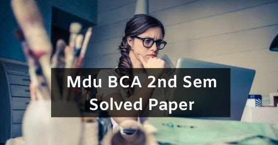 BCA Second Year Lecture Notes & eBooks – Get Free PDF ...