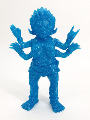Mara Blue Glow in the Dark Vinyl Figure by Devil's Head Productions