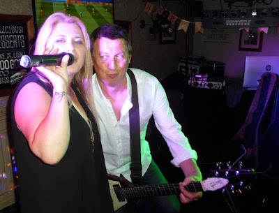 Scunthorpe band Adrenalin performing at the Britannia Inn, Brigg, on  June 8, 2019