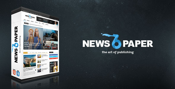 Free Downloa Newspaper V6.6.2 Responsive Newspaper Wordpress Theme
