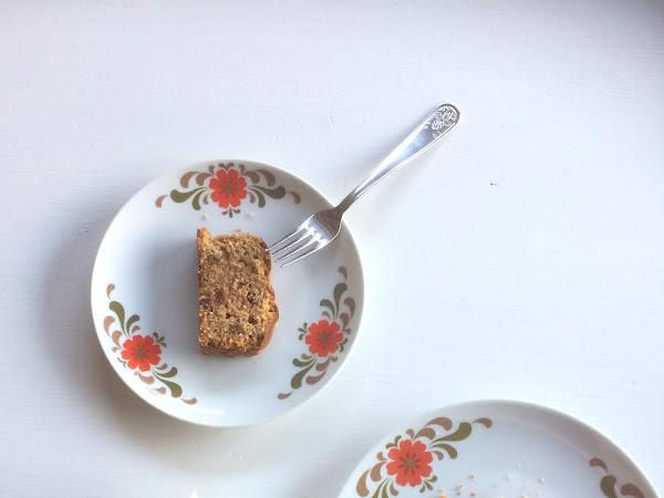 Op uw gemak ontbijten: vijgencake