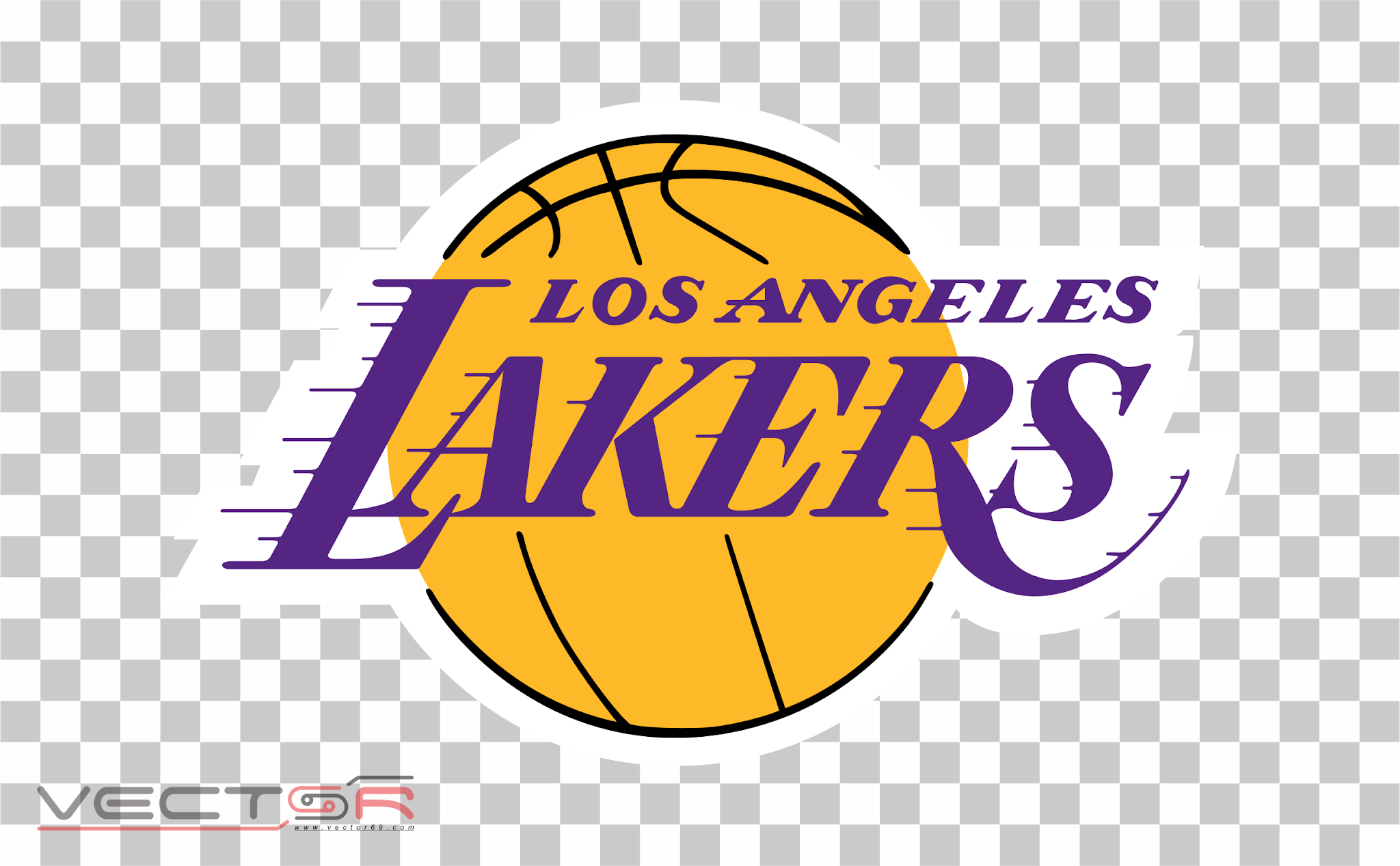 Los Angeles Lakers Logo - Download .PNG (Portable Network Graphics) Transparent Images