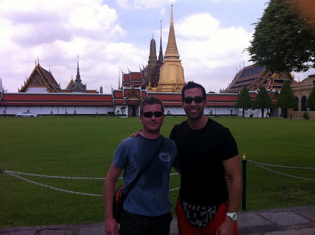 Isra y Antonio en el Gran Palacio