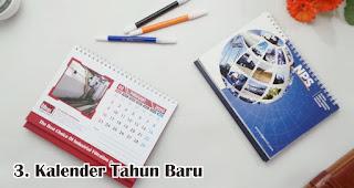 Kalender Tahun Baru merupakan salah satu rekomendasi souvenir kece di awal tahun