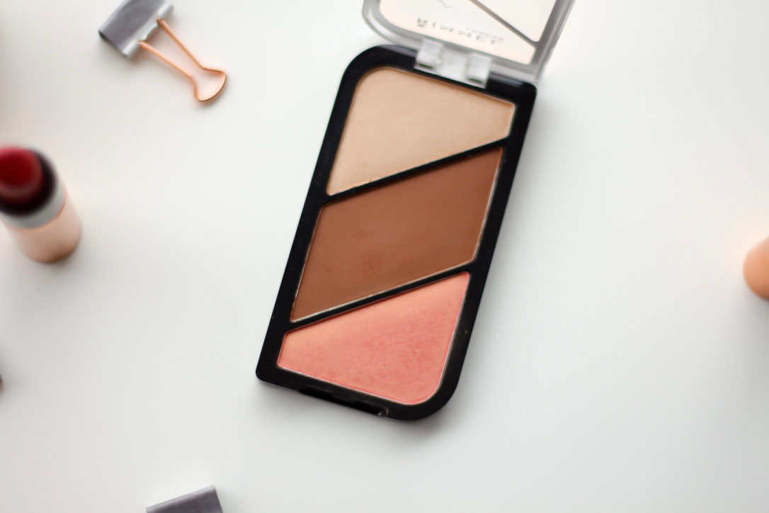 Rimmel Kate Moss Sculpting Cheek Palette in Golden Bronze