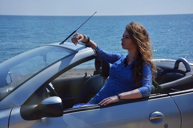 фотосессия с кабриолетом в Крыму