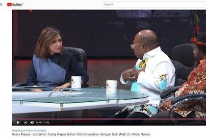 Saat Najwa Shihab Kaget Gubernur Papua Tak Percaya Undang-undang: Gubernur Tak Percaya UU Pak Lukas?
