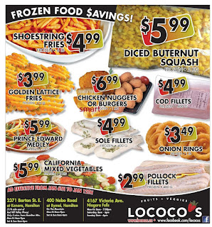 Lococo's Weekly Flyer January 6 – 12, 2017