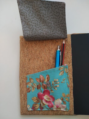 agenda, notebook case, costura, couture, sewing, funda cuaderno, protége cahier